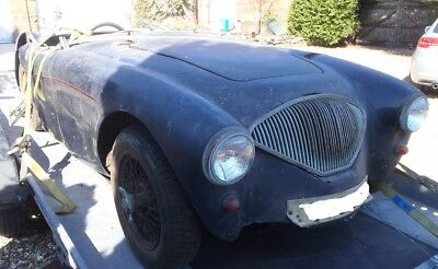 Austin Healey 100/4 UK RHD project been stored many years.