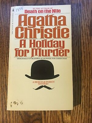 A Holiday For Murder By Agatha Christie 1978 Bantam Paperback