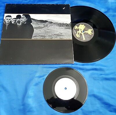 "U2 - Yoshua Tree, YUGOSLAVIAN PRESS LP + 7"" LIVE EP: ""J. Adams, Where Are You ?"""