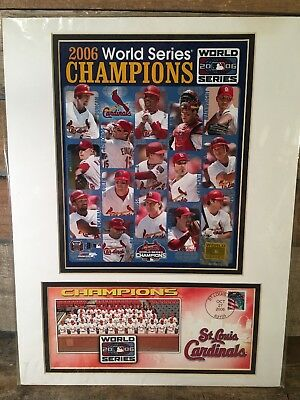 Cardinals de Saint-Louis World Séries Champions 2006 USPS Postal Service Photo