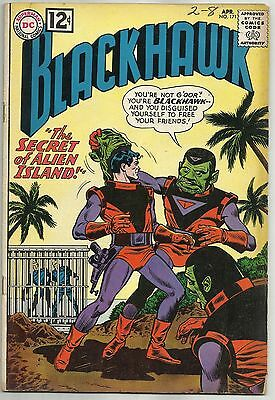 "BLACKHAWK #171 (""Secret of Alien Island"" Cover & Story) DC Comics, 1962"