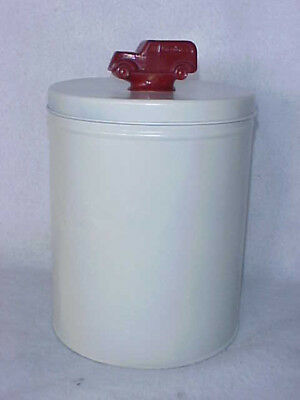 Vintage Gordon's Potato Chip Tin Can w/ Truck Top, Tom's Peanut Jar Store Lance
