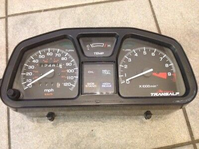 Honda Transalp clocks XL600V XL 600 Trans Alp guages dash clockset speedo tacho