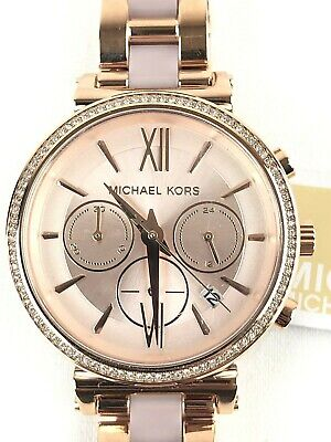 2e8e5f64747a Michael Kors Sofie Pavé Rose Gold Tone Stainless Steel Women s Watch MK6560