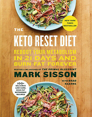 The Keto Reset Diet: Reboot Your Metabolism in 21 Days and Burn Fat Forever[PDF]