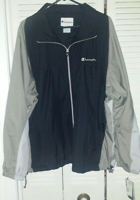 Men's Champion Athletic Workout Fitness Warm Up Jacket Size XXL 2XL Brand New