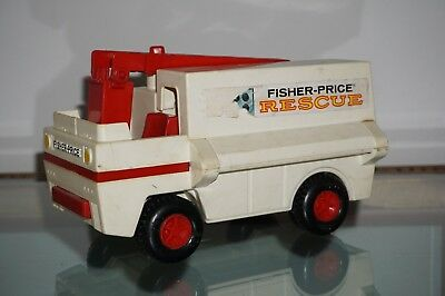 Fisher Price Toys Rescue Rettungswagen 1974 Made in USA