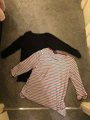 New Look Maternity tops  size 12