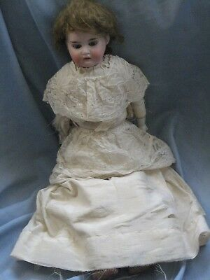 Antique Bisque Doll, As Is