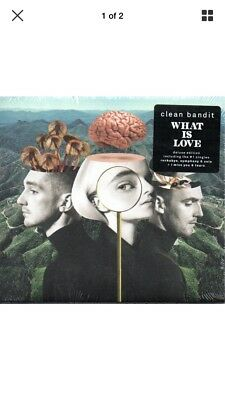 Clean Bandit - What Is Love - 16 track Deluxe Version CD - 2018 - NEW Sealed