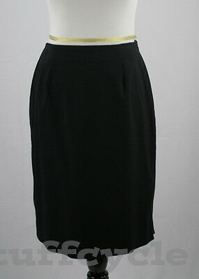 Women's Clothing Covington Black Pencil Lined Career Skirt 16 Nwt Online Shop Clothing, Shoes & Accessories