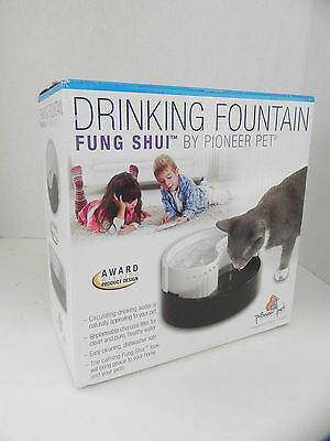 Pioneer Pet Dog Cat Ceramic Drinking Water Fountain Raindrop