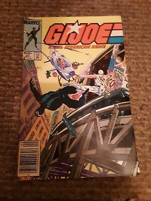 Old Marvel Comic Book Gi Joe Issue 27 Sept