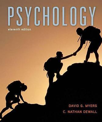 Psychology by David G. Myers and C. Nathan DeWall(2015, Hardcover, Revised)(PDF)