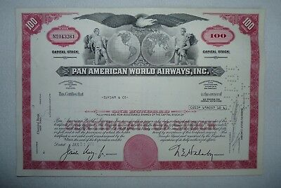 Pan American World Airways Inc. , USA