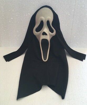SCREAM MASQUE GHOST FACE GLOW Officiel EASTER UNLIMITED Vintage MASK FUN WORLD
