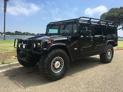 2006 Hummer H1 wagon 2006 Hummer H1 Alpha wagon search and rescue low miles turbo diesel duramax