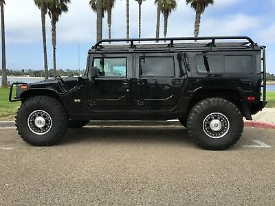 2006 Hummer H1 wagon 2006 hummer h1 alpha search and rescue black wagon
