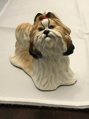 Hevener Limited Edition Collectible Shih-Tzu Dog Figurine