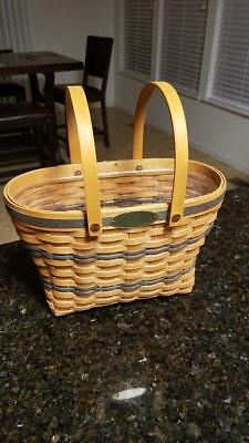 Longaberger 1997 Traditions Fellowship Basket w Protector