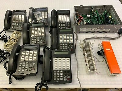 Vodavi STS 3500-00 Telephone System with voice mail and 7 Starplus STS phone