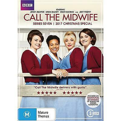 Call The Midwife Series 7/2017 Christmas Special - Region 4 3 disc DVD