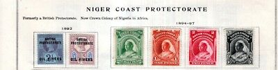 Niger Coast Collection from Full Scott Intern 1840-1940 Album with Extras