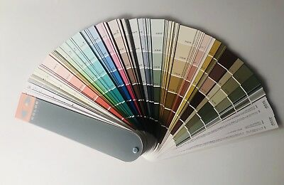 Benjamin Moore Paint Color Preview Wheel Swatches Chips Fan Deck Vintage Chart
