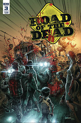 ROAD OF THE DEAD HIGHWAY TO HELL #3 CVR A SANTIPEREZ 1st Print (WK02.19)