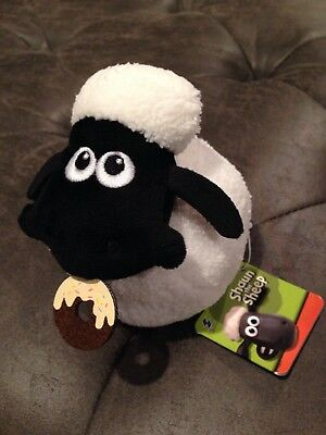NEW Shaun The Sheep Plush With Doughnut Donut [Japan Edition]