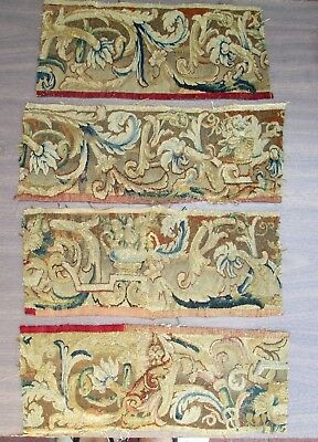 Four Early Tapestry Fragments