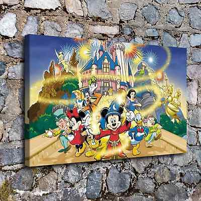"""12""""x20""""Disneyland HD Canvas print Painting Home Decor Picture Room Wall  Poster"""