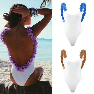 Sexy Women One-Piece Padded Swimsuit Beachwear Swimwear Push-up Monokini Bikini