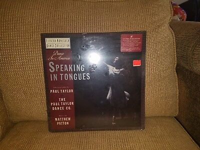 Nonesuch Speaking In Tongues Laser Disc  Brand New