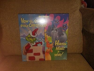 How The Grinch Stole Christmas Horton Hears A Who Laser Disc Brand New