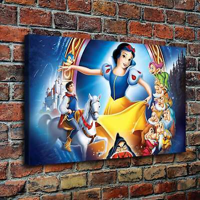 "12""x20"" Disney HD Canvas print Painting Home Decor Picture Room Wall art Poster"