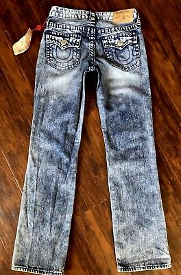 NEW TRUE RELIGION Jeans Boys Size 12y