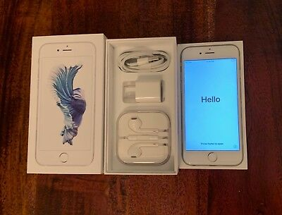 Apple iPhone 6s - 64GB - Silver (AT&T) A1633 Unlocked Factory Refurbished*