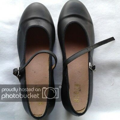 9.5 Bloch womens tap shoes worn to one dance black mary janes