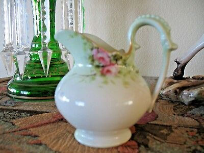 Very Sweet Antique T&V Limoges Depose Touraine France Cream Pitcher