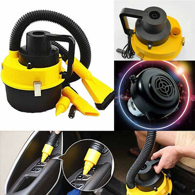12V Mini Car Vacuum Cleaner Portable Wet/Dry High Power Interior Cleaning Tools
