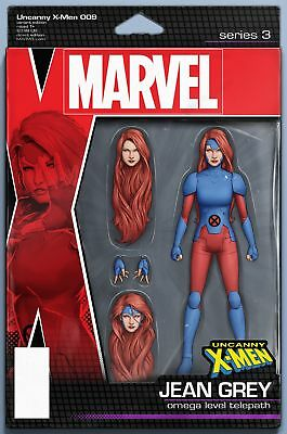 UNCANNY X-MEN #9 CHRISTOPHER ACTION FIGURE VAR 1st Print (WK02.19)