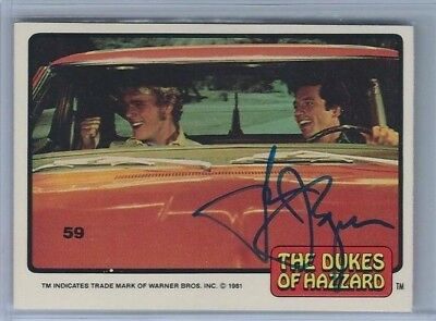 Tom Wopat Autograph Auto 2014 Golden Age Buy Back Dukes Of Hazzard