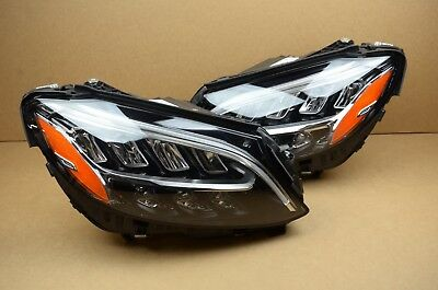 2X NEW FULL LED Headlight Headlights Left & Right For