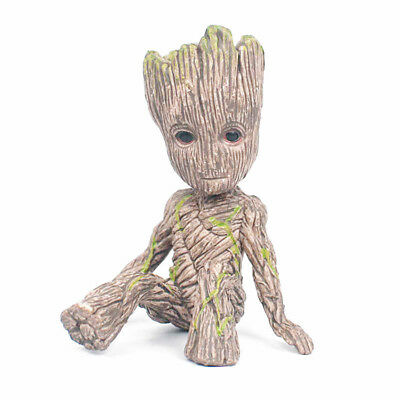 "2"" Cute Guardians of The Galaxy Vol. 2 Baby Sitting Groot Action Figure Toy Gift"
