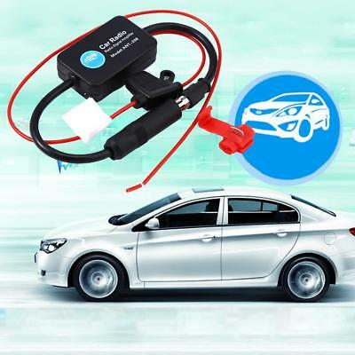 Universal Automobile Car FM Radio Stereo Antenna Signal Amplifier Booster UK