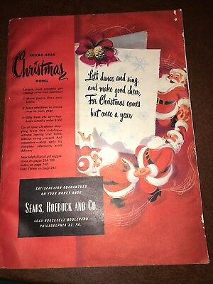 Sears 1948 Christmas Book Catalog