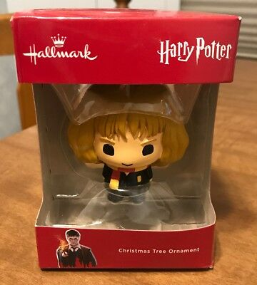 Hallmark Christmas Tree Ornament-Harry Potter's Hermione-New