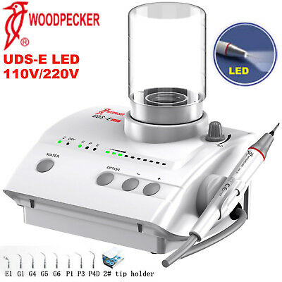 Woodpecker Dental Piezo Ultrasonic Scaler LED Handpiece UDS-E LED 110V 220V EMS