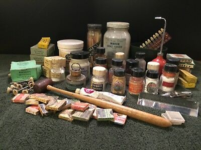 Assorted Antique Dentistry Supplies
